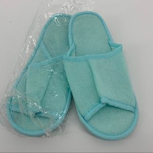 Free w/ any purchase: spa shoes
